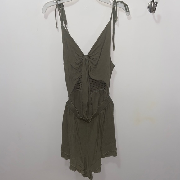 Green Romper from Shein